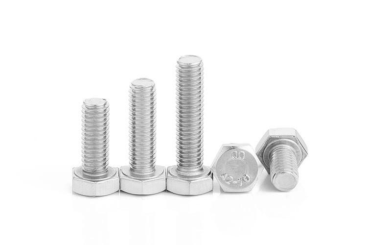 304不锈钢外六角螺丝M4|M5|M6|M8 DIN933厂家批发全牙六角螺栓