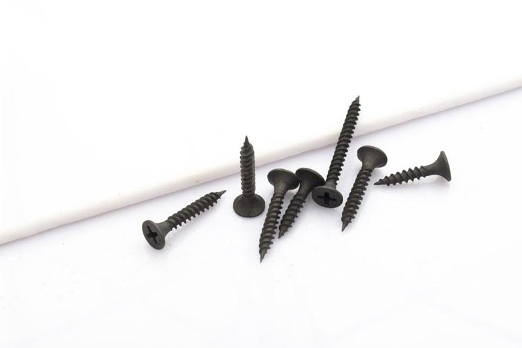 M3.5干壁钉 沉头石膏板螺丝 黑色高强度磷化干壁钉 加硬墻板钉